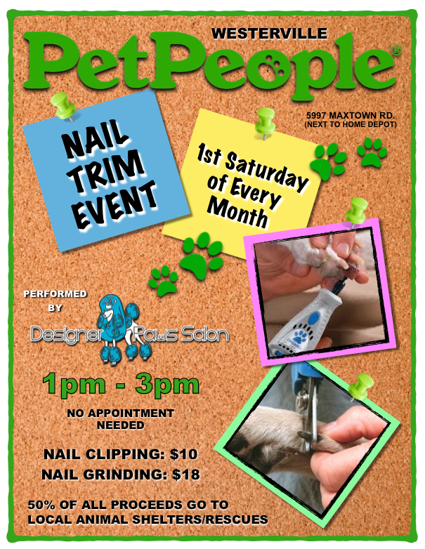 Pet People Westerville Nail Trim Event 2017