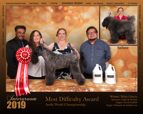 Kerry Blue Terrier Most Difficult Award